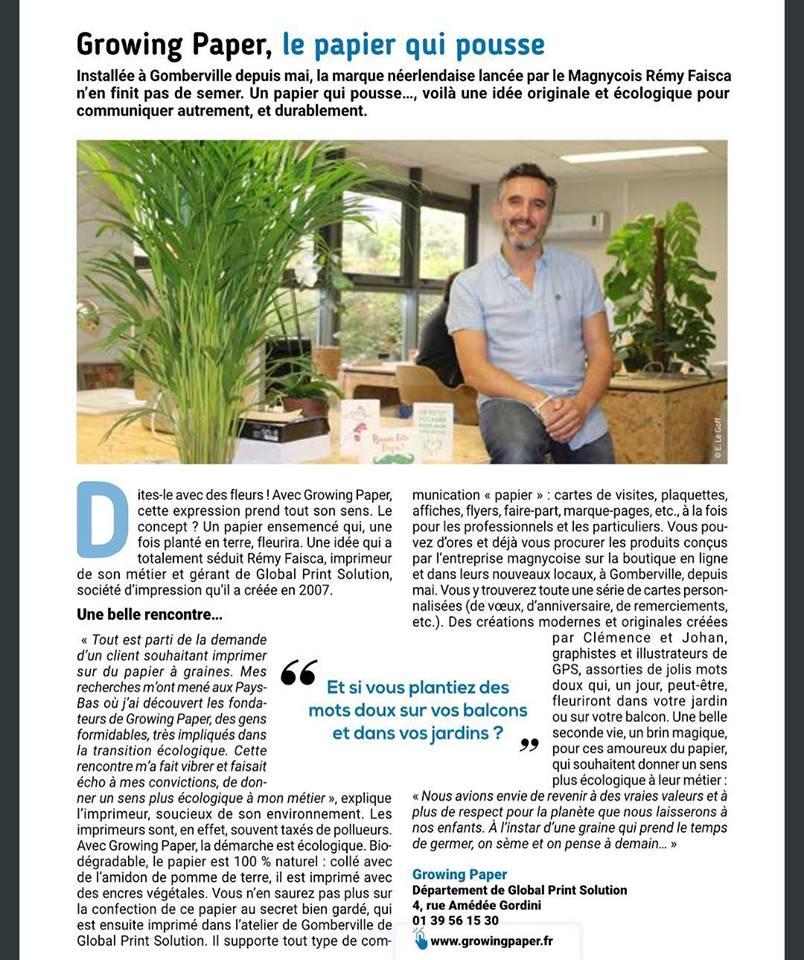 journal Magny les Hx vie eco septembre 2018