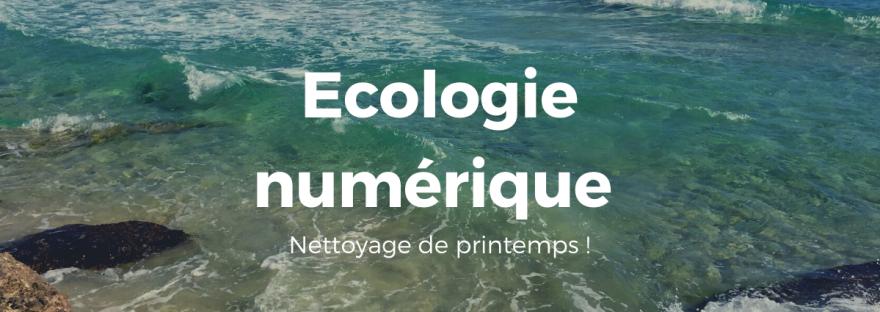 Ecologie numérique - Se former et développer sa stratégie digitale